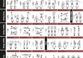 Fitness Exercise Posters NewMe